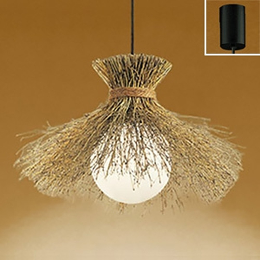 オーデリック LED和風ペンダントライト 白熱灯100W相当 電球色・昼白色 光色切替調光タイプ OP035303PC1