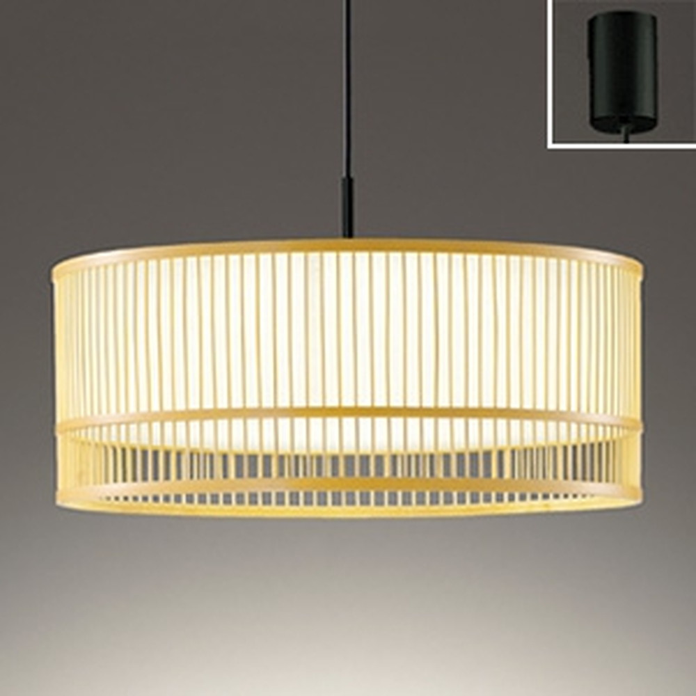 オーデリック LED和風ペンダントライト FCL30W相当 電球色 OP252497LD