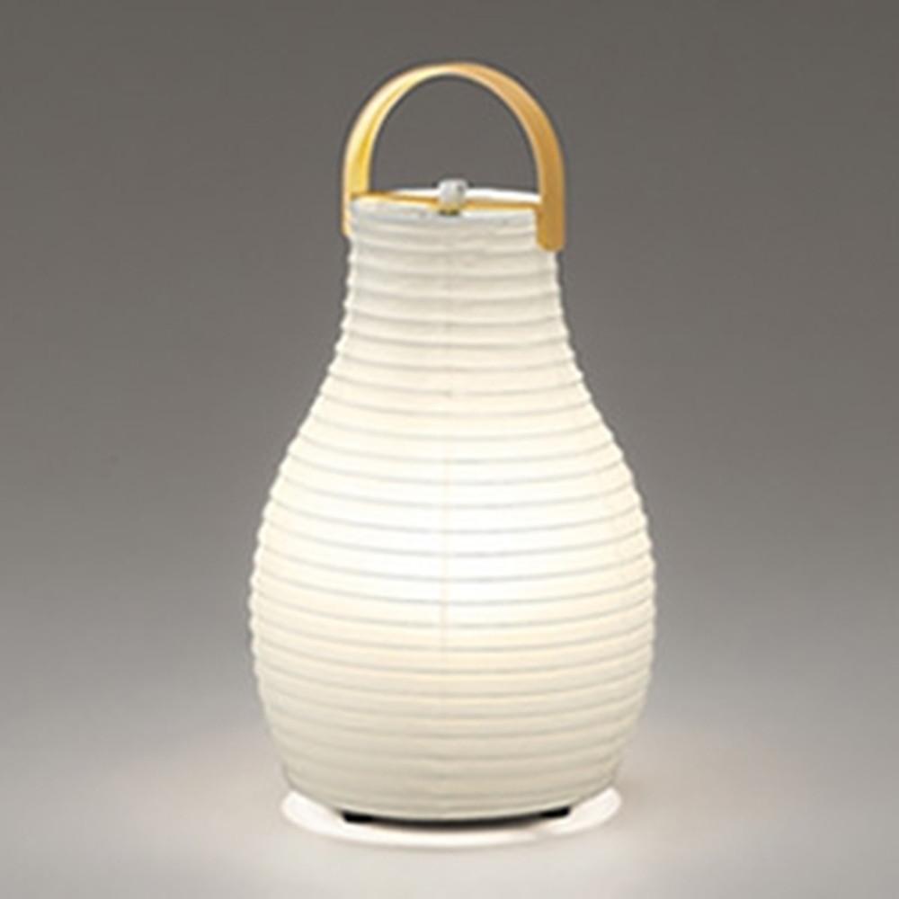オーデリック LED和風スタンドライト 白熱灯60W相当 電球色 中間スイッチ付 OT265017LD
