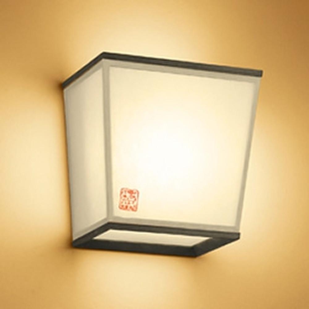 オーデリック LED和風ブラケットライト 白熱灯60W相当 電球色 杉(黒色) OB255208LD