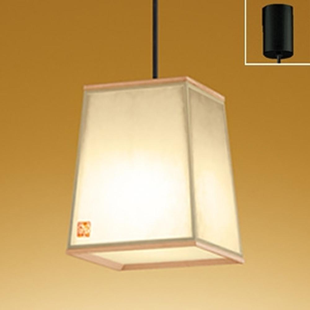 オーデリック LED和風ペンダントライト 白熱灯60W相当 電球色 秋田杉 OP252565LD