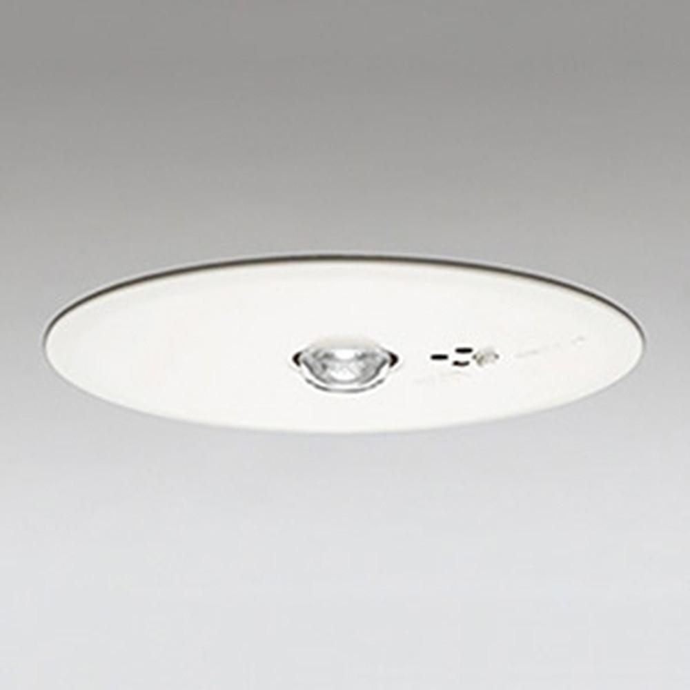 オーデリック LED非常用照明器具 浅型 高天井用(~10m) ハロゲン30W相当 埋込穴150mm 自己点検機能付 昼白色 OR036108P1
