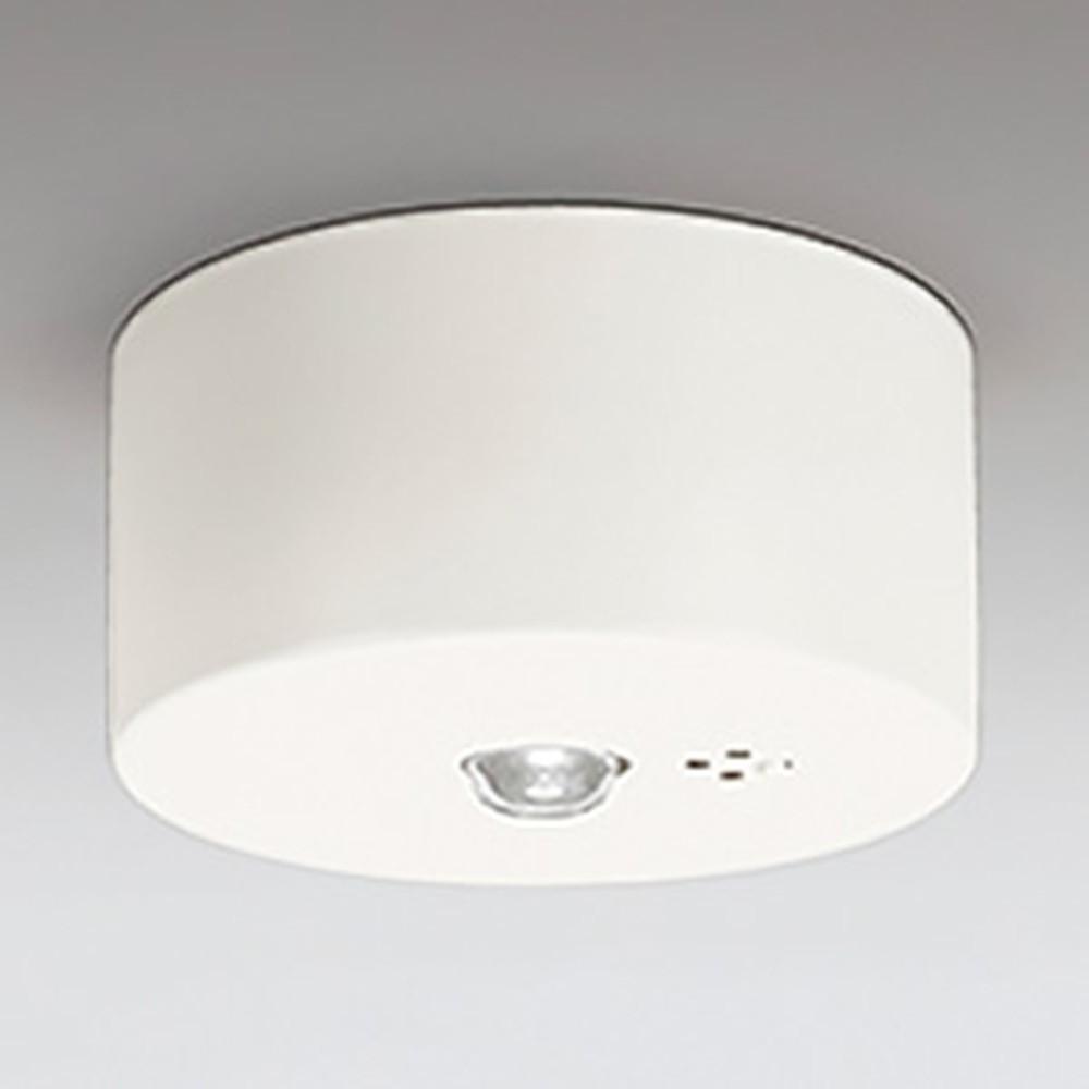 オーデリック LED非常用照明器具 天井面取付専用 高天井用(~10m) ハロゲン30W相当 自己点検機能付 昼白色 OR036109P1