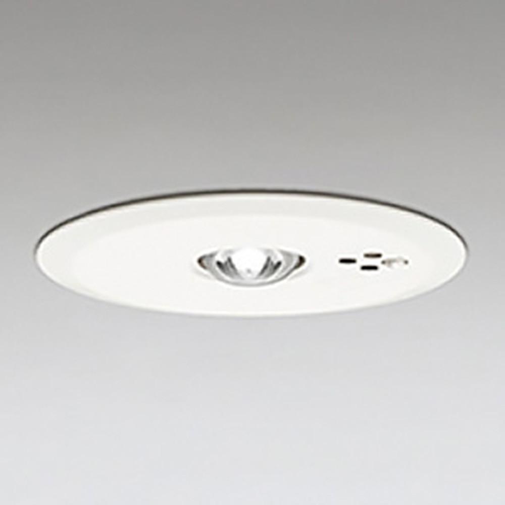 オーデリック LED非常用照明器具 浅型 低天井用(~3m) ハロゲン13W相当 埋込穴100mm 自己点検機能付 昼白色 OR036317P1