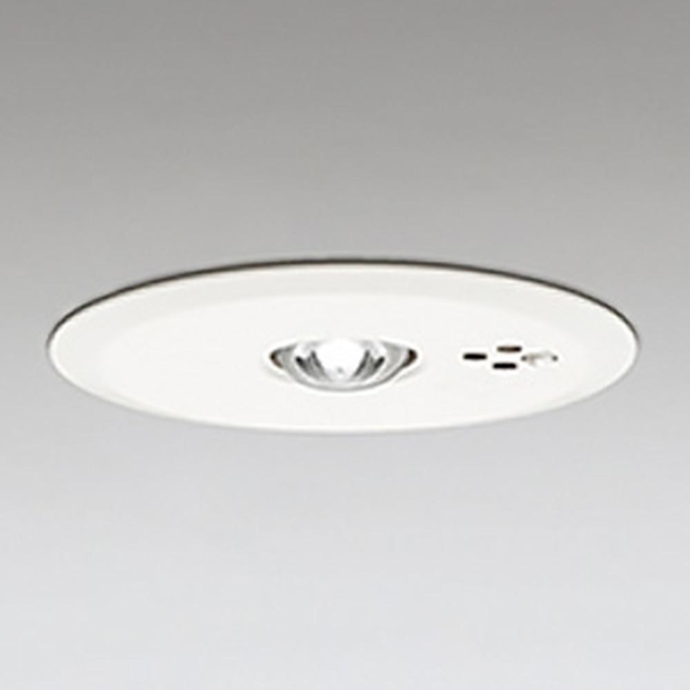 オーデリック LED非常用照明器具 浅型 低天井用(~3m) ハロゲン13W相当 埋込穴100mm 自己点検機能付 昼白色 OR036314P1