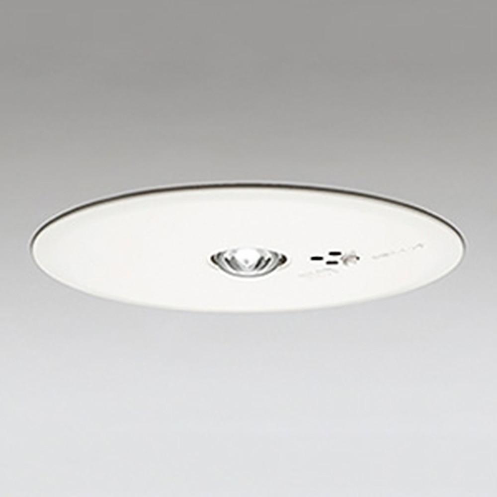 オーデリック LED非常用照明器具 浅型 低天井用(~3m) ハロゲン13W相当 埋込穴150mm 自己点検機能付 昼白色 OR036315P1