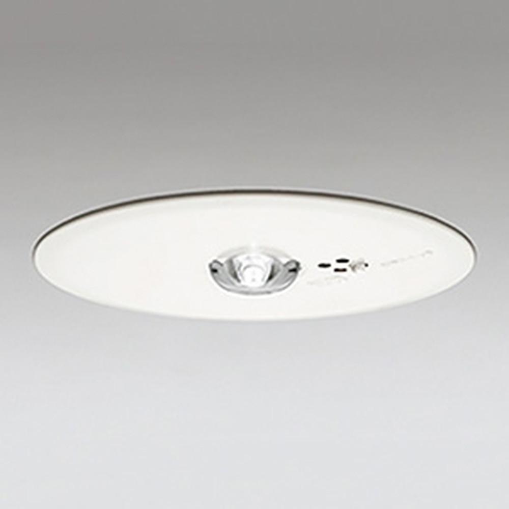オーデリック LED非常用照明器具 浅型 中天井用(~6m) ハロゲン30W相当 埋込穴150mm 自己点検機能付 昼白色 OR036608P1