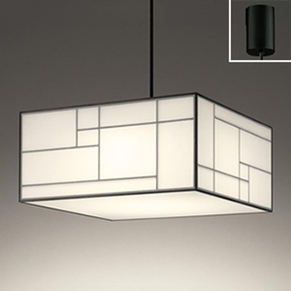 オーデリック LED和風ペンダントライト ~8畳用 電球色 白木(オイルステイン) OP252612