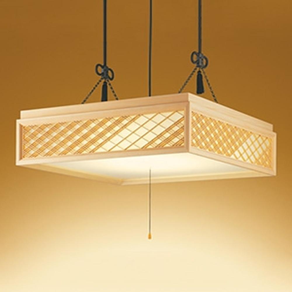 オーデリック LED和風ペンダントライト ~14畳用 電球色~昼光色 調光・調色タイプ リモコン付 OP252600
