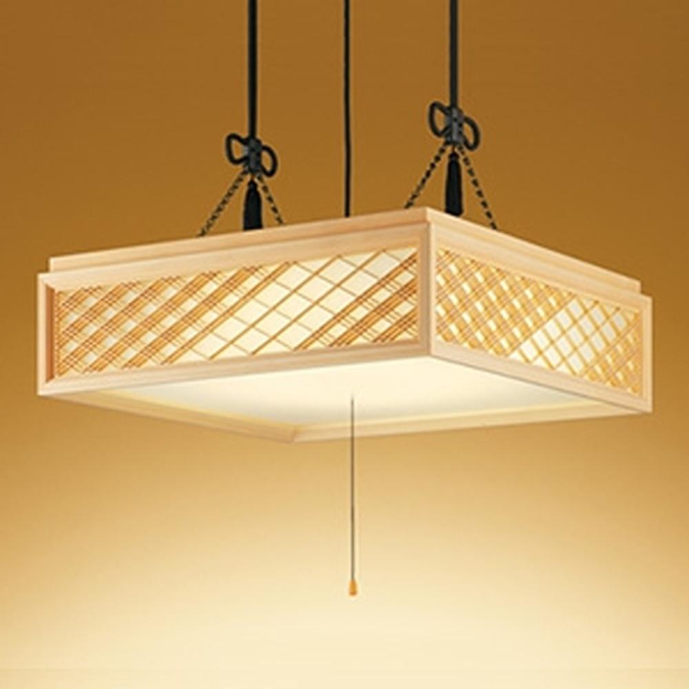 オーデリック LED和風ペンダントライト ~12畳用 電球色~昼光色 調光・調色タイプ リモコン付 OP252601