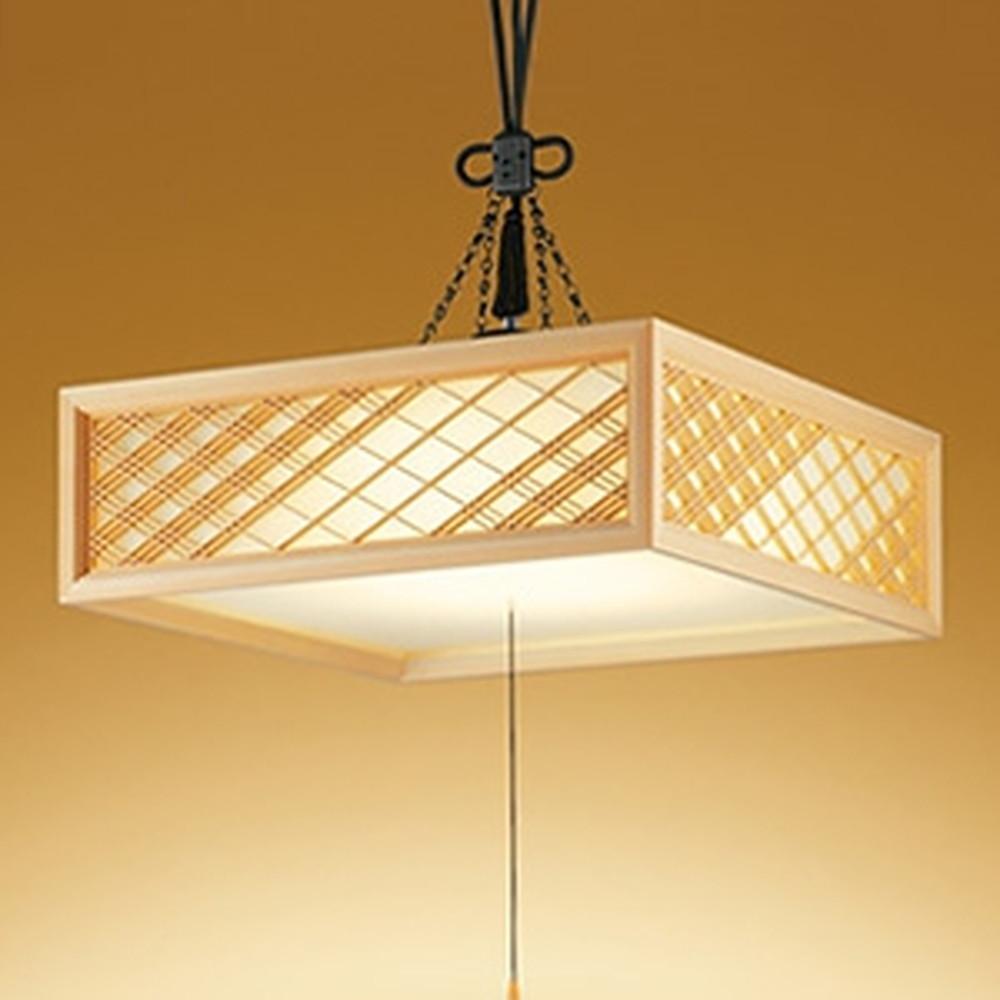 オーデリック LED和風ペンダントライト ~8畳用 電球色~昼光色 調光・調色タイプ リモコン付 OP252602