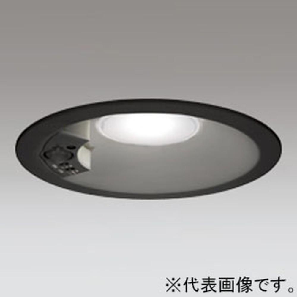 オーデリック LEDベースダウンライト 高気密SB形 白熱灯100Wクラス 電球色 埋込穴φ150 人感センサ付 ブラック OD261961
