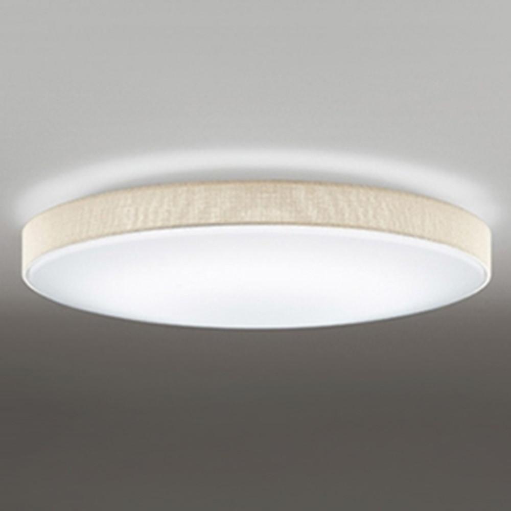 オーデリック LEDシーリングライト ~10畳用 電球色~昼光色 調光・調色タイプ リモコン付 アイボリー OL251670P1