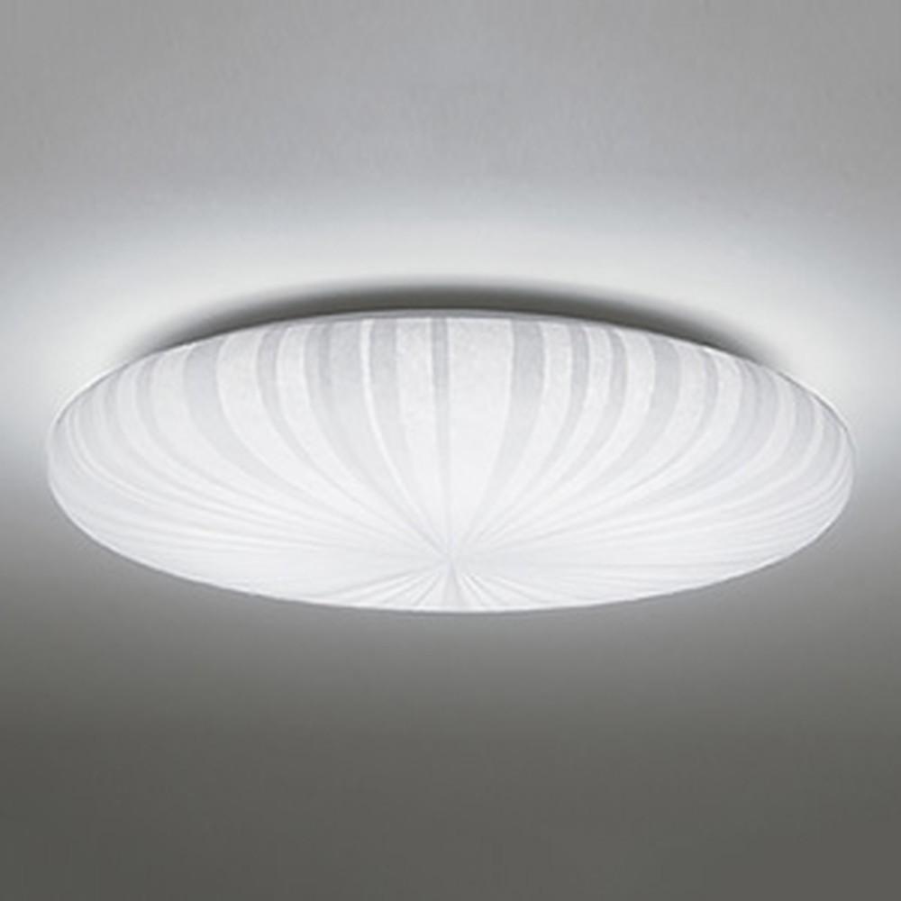 <title>売買 オーデリック LED和風シーリングライト ~6畳用 電球色~昼光色 調光 調色タイプ リモコン付 OL251818</title>