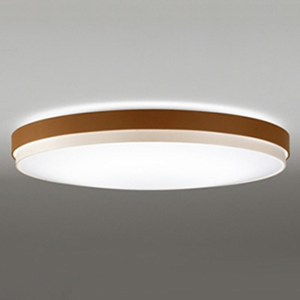 オーデリック LEDシーリングライト ~12畳用 電球色~昼光色 調光・調色タイプ リモコン付 チェリー OL291299