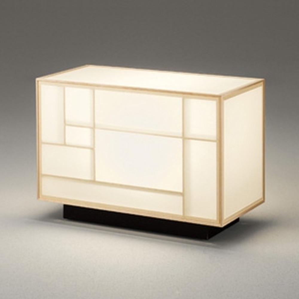 オーデリック LED和風スタンドライト 白熱灯60W相当 電球色 中間スイッチ付 白木 OT265022LD
