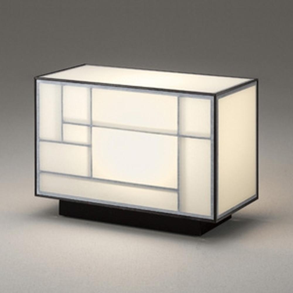 オーデリック LED和風スタンドライト 白熱灯60W相当 電球色 中間スイッチ付 白木(オイルステイン) OT265023LD