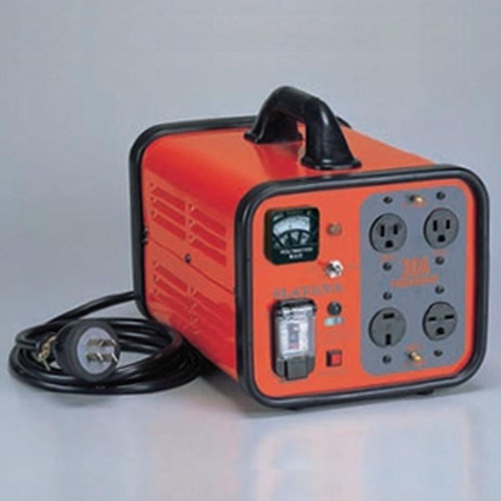 ハタヤ 電圧変換器 《トランスル》 昇降圧兼用型 入力電圧100・200V トランス容量3.0kVA HLV-03A