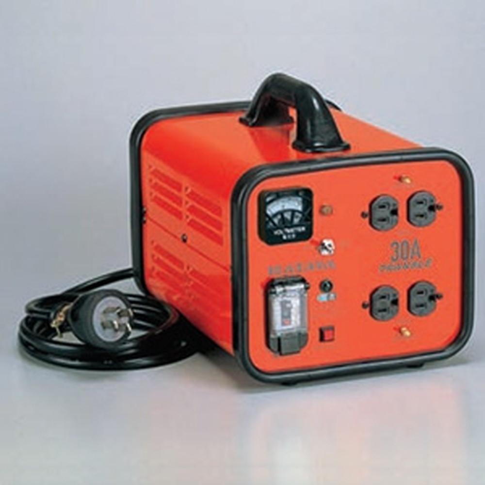 ハタヤ 電圧変換器 《トランスル》 降圧型 入力電圧200V トランス容量3.0kVA LV-03B