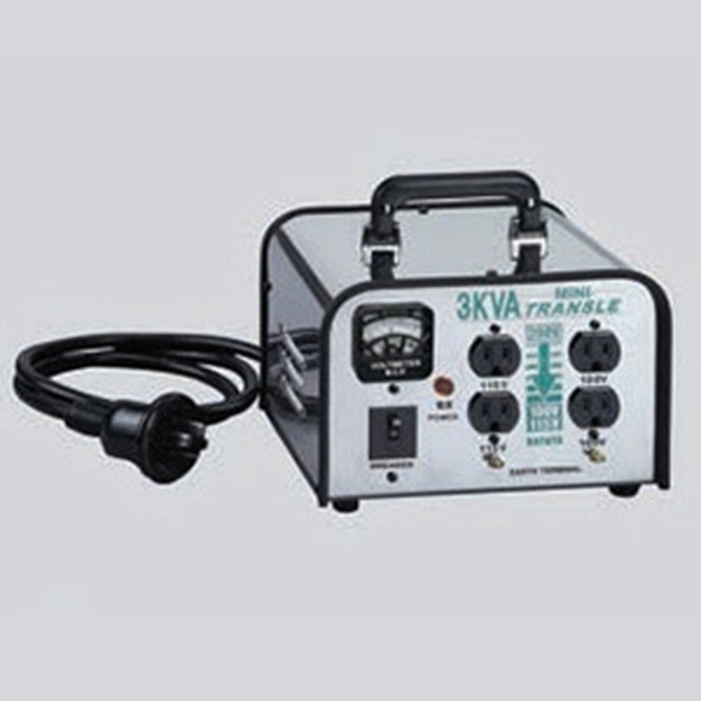 ハタヤ 電圧変換器 《ミニトランスル》 降圧型 入力電圧200V トランス容量3.0kVA LV-03CS