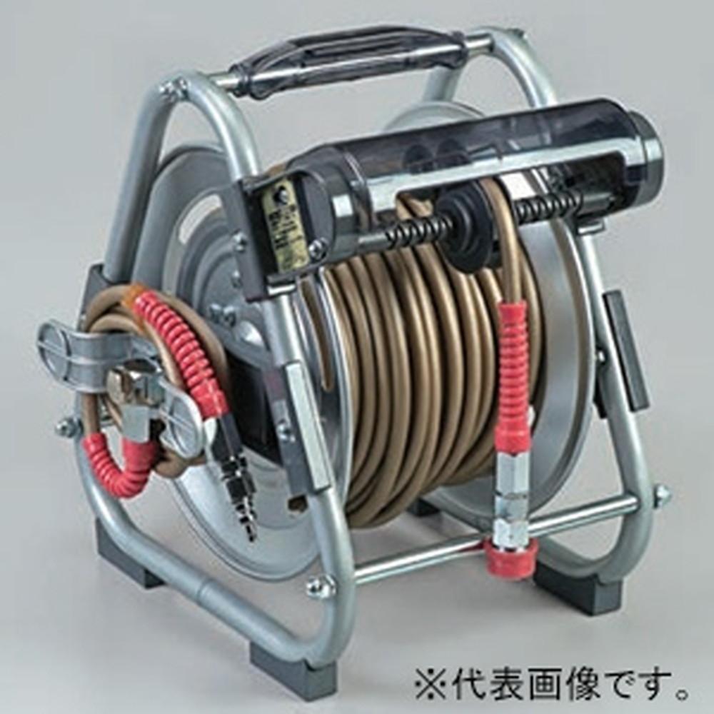ハタヤ ナラシマキ高圧エヤーリール 整列巻取タイプ ホース長30m 径5×9mm HDN-305