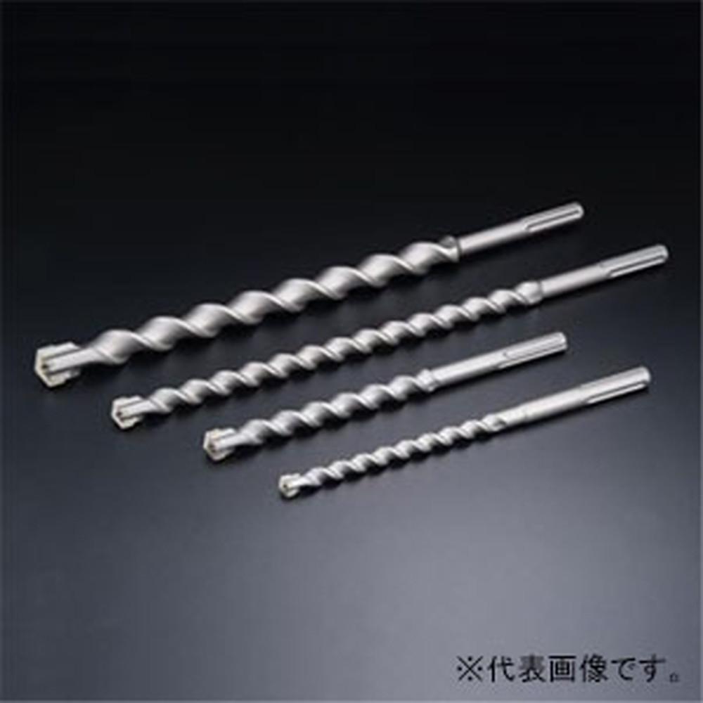 ユニカ SDSマックスUXビット コンクリートドリル SMUX・ロングタイプ 回転+打撃用 クロス刃 刃先径32.0mm 有効長400mm SMUXL32.0×540