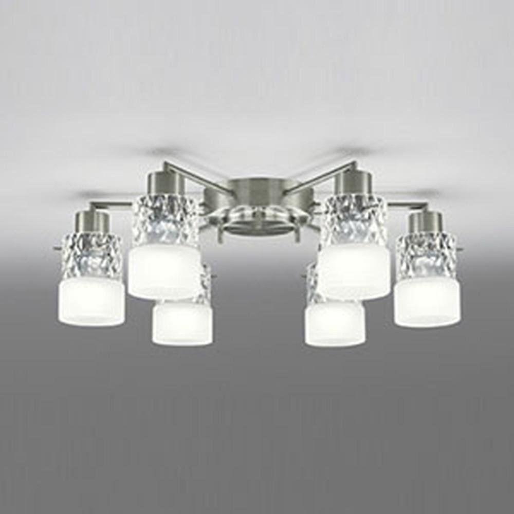 オーデリック LEDシャンデリア ~8畳用 5.3W×6灯タイプ 電球色 OC005013LD