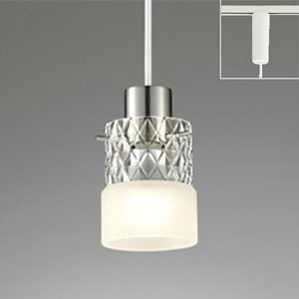 オーデリック LEDペンダントライト ライティングレール取付専用 白熱灯60W相当 電球色~昼光色 調光・調色タイプ Bluetooth®対応 OP034378BC