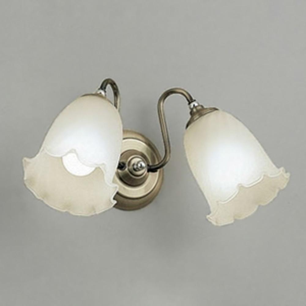 オーデリック LEDブラケットライト 白熱灯100W×2灯相当 電球色~昼光色 調光・調色 Bluetooth®対応 真鍮ブロンズメッキ OB080815BC