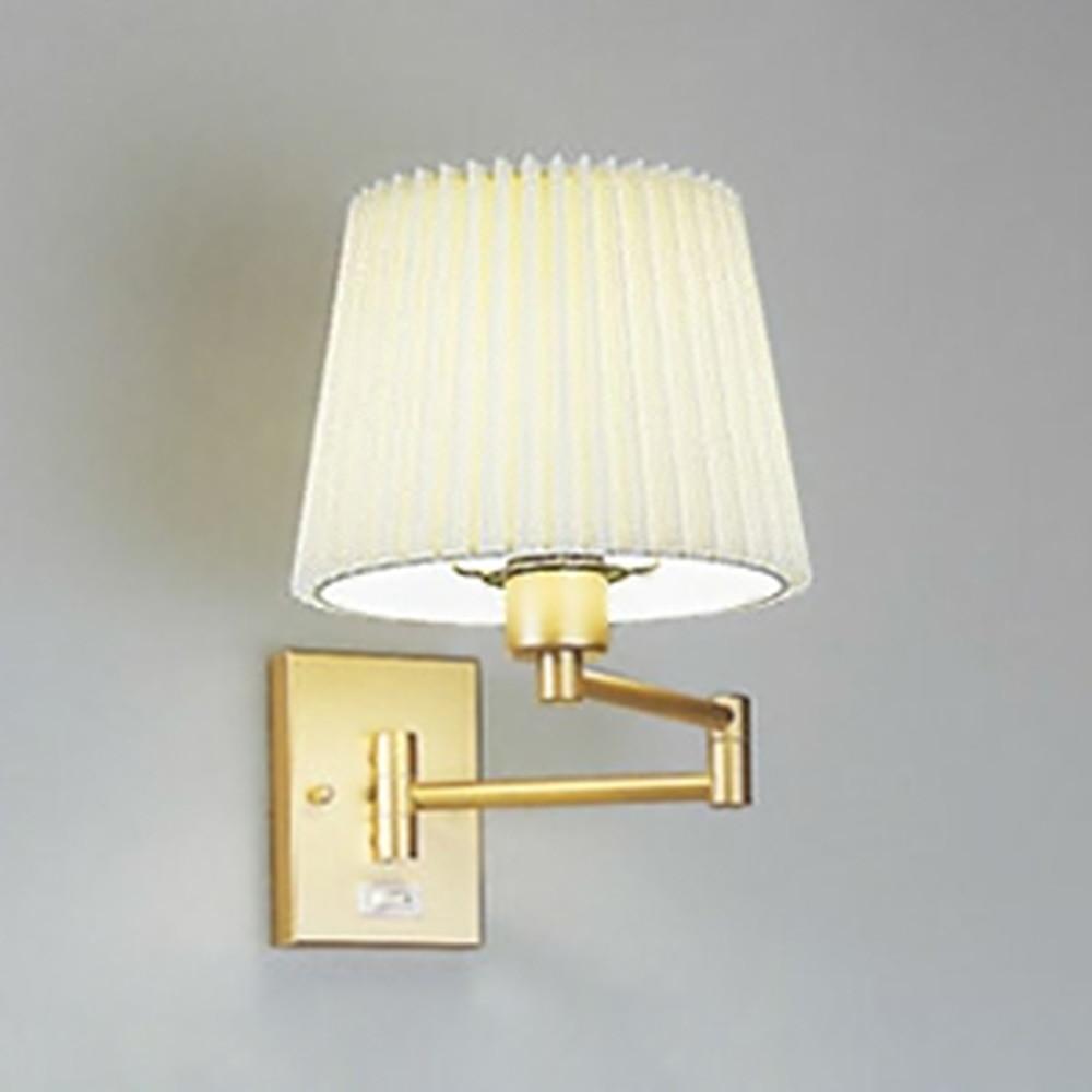 オーデリック LEDブラケットライト 灯具可動型 白熱灯60W相当 電球色 OB080370LD