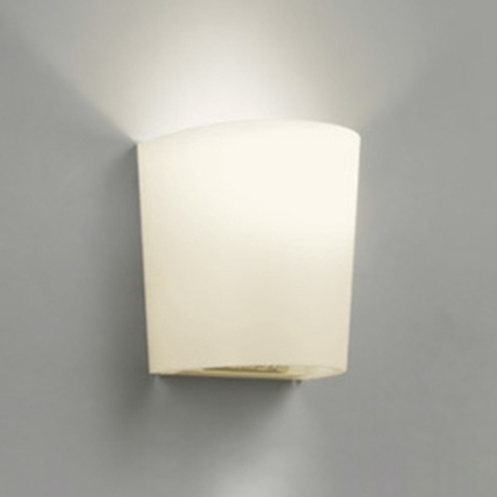 オーデリック LEDブラケットライト 白熱灯60W相当 電球色 人感センサ付 OB080932LD