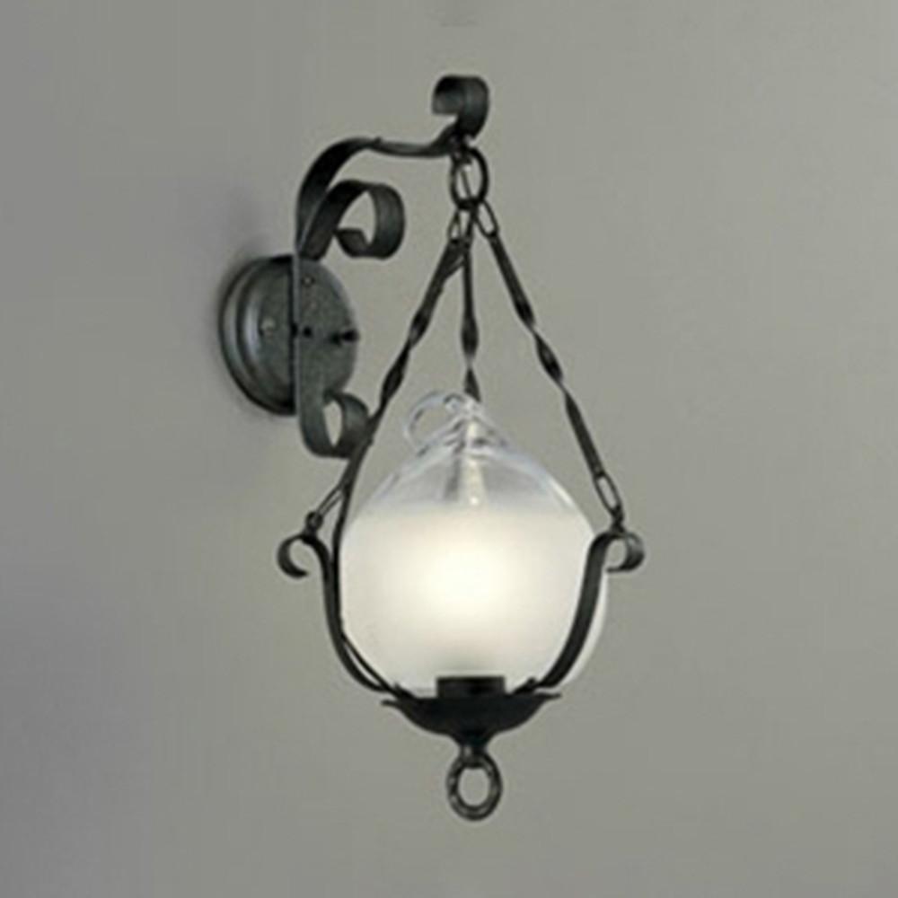 オーデリック LEDブラケットライト 白熱灯40W相当 電球色 OB081027LD
