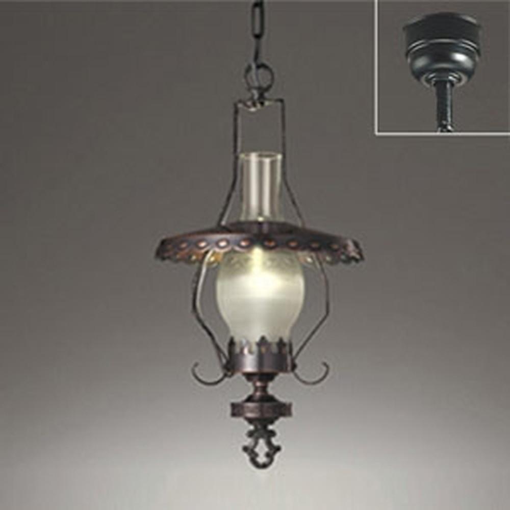 オーデリック LEDペンダントライト 白熱灯40W相当 電球色 調光タイプ OP034396LC