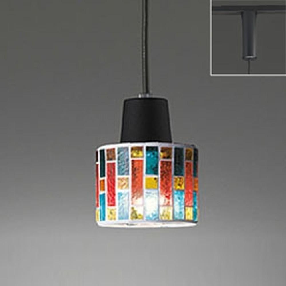 オーデリック LEDペンダントライト ライティングレール取付専用 白熱灯60W相当 電球色 調光タイプ OP034445LC