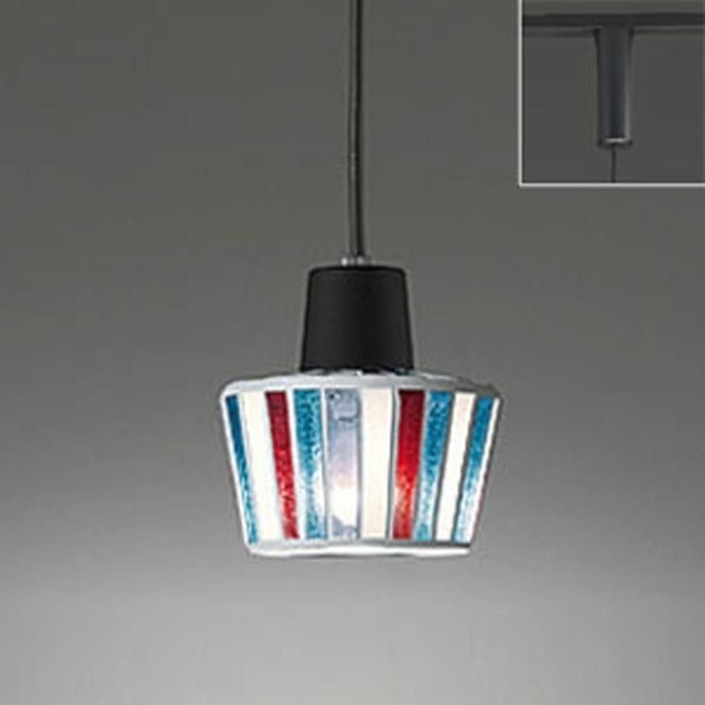 オーデリック LEDペンダントライト ライティングレール取付専用 白熱灯60W相当 電球色 OP034446LD