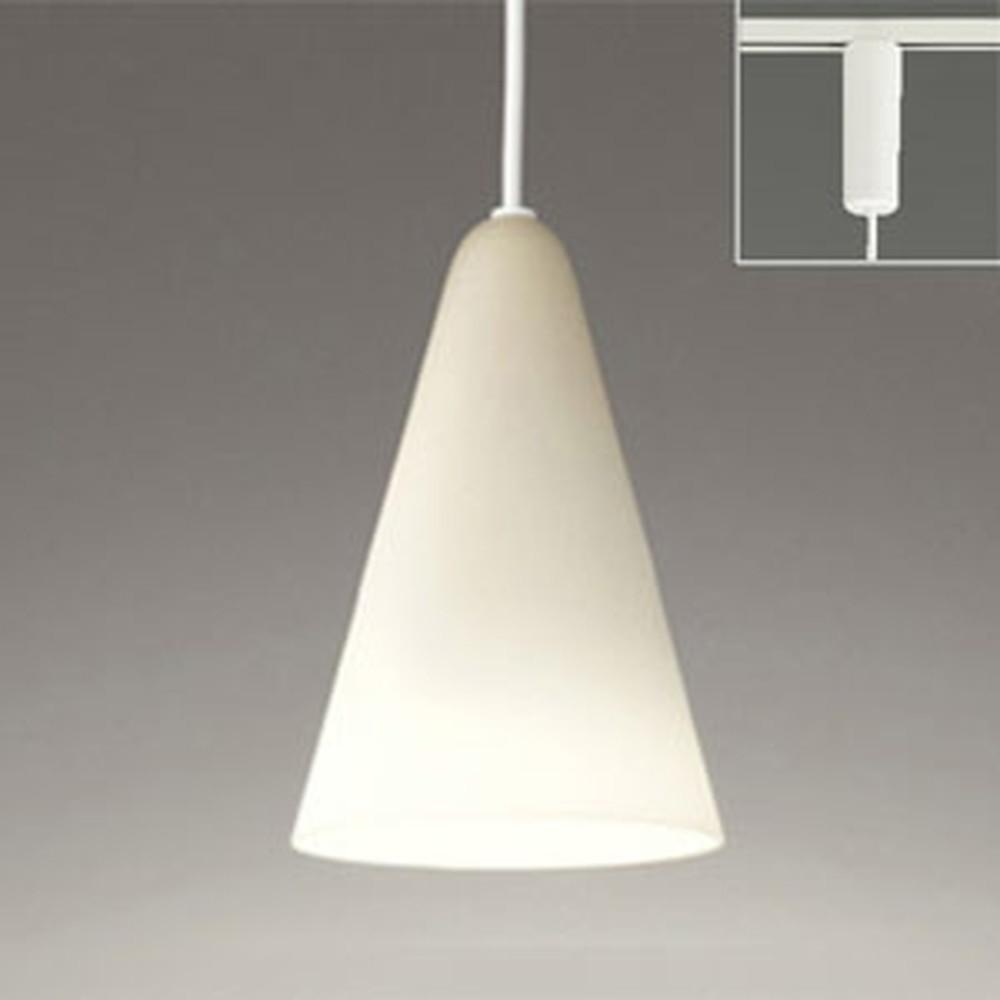 オーデリック LEDペンダントライト ライティングレール取付専用 白熱灯60W相当 電球色~昼光色 調光・調色タイプ Bluetooth®対応 OP034462BC