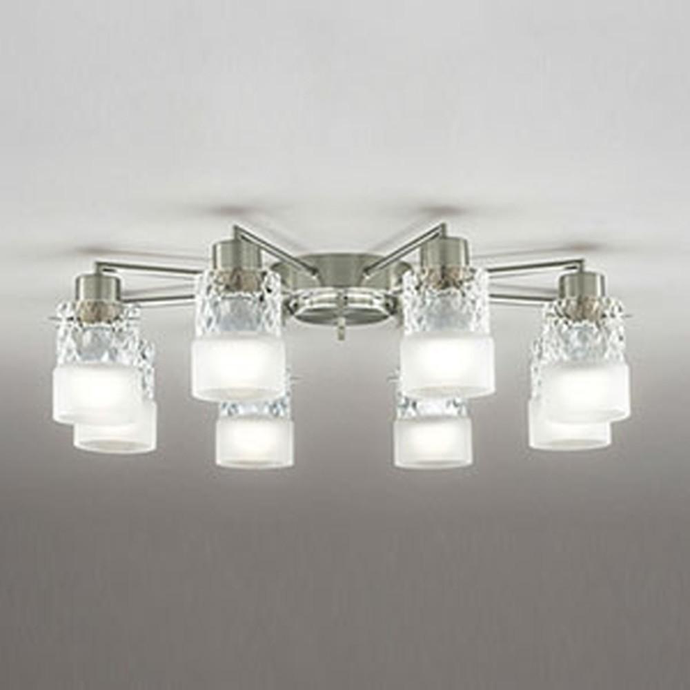 オーデリック LEDシャンデリア ~14畳用 9W×8灯タイプ 電球色~昼光色 調光・調色タイプ Bluetooth®対応 OC257009BC