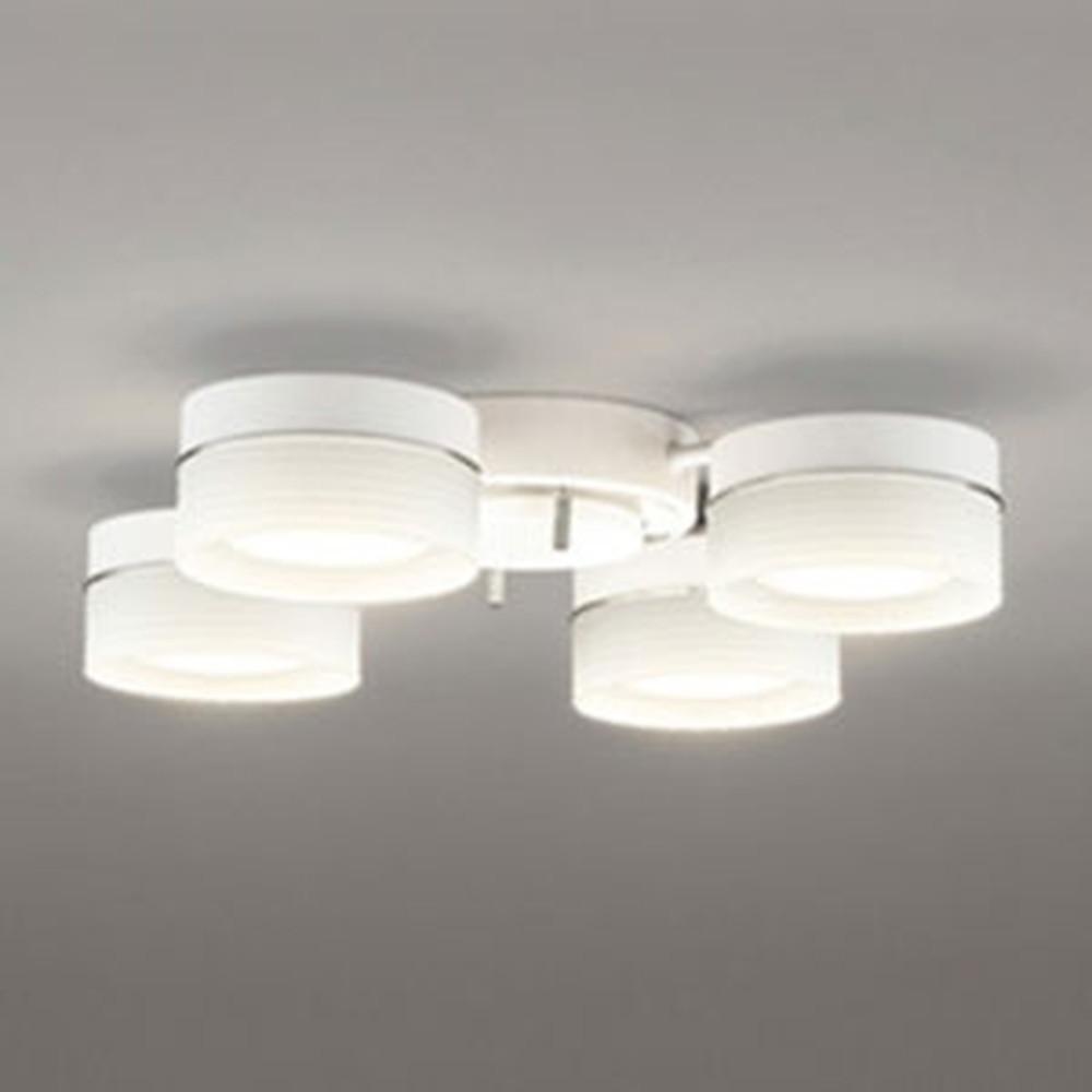 オーデリック LEDシャンデリア ~4.5畳用 6.8W×4灯タイプ 電球色 調光タイプ OC257017LC
