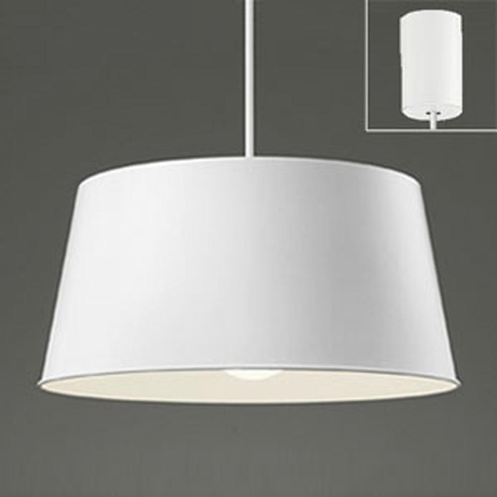 オーデリック LEDペンダントライト 白熱灯100W相当 電球色 マットホワイト OP252131LD