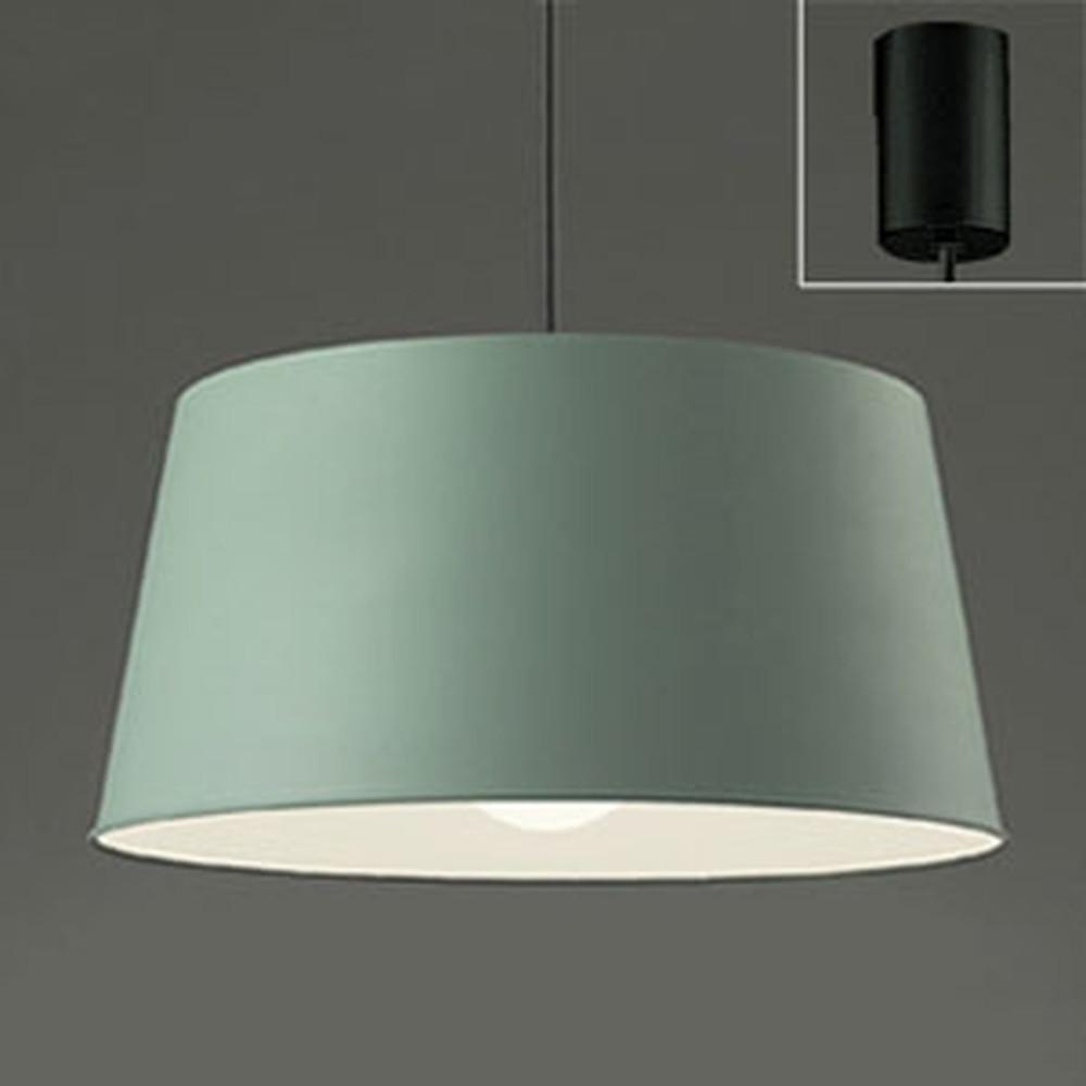 オーデリック LEDペンダントライト 白熱灯100W相当 電球色 モスグリーン OP252133LD