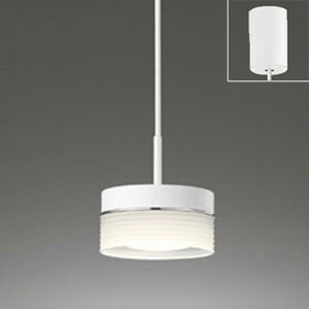 オーデリック LEDペンダントライト 引掛シーリングタイプ 白熱灯60W相当 電球色・昼白色 光色切替調光タイプ OP252239PC