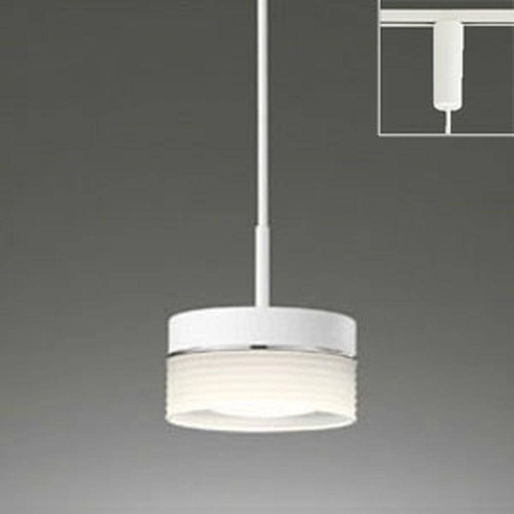 オーデリック LEDペンダントライト ライティングレール取付専用 白熱灯60W相当 電球色・昼白色 光色切替調光タイプ OP252240PC