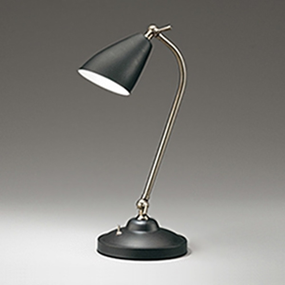 オーデリック LEDスタンドライト 《Retro Future》 白熱灯60W相当 電球色 コード1.5m付 黒 OT265014LD