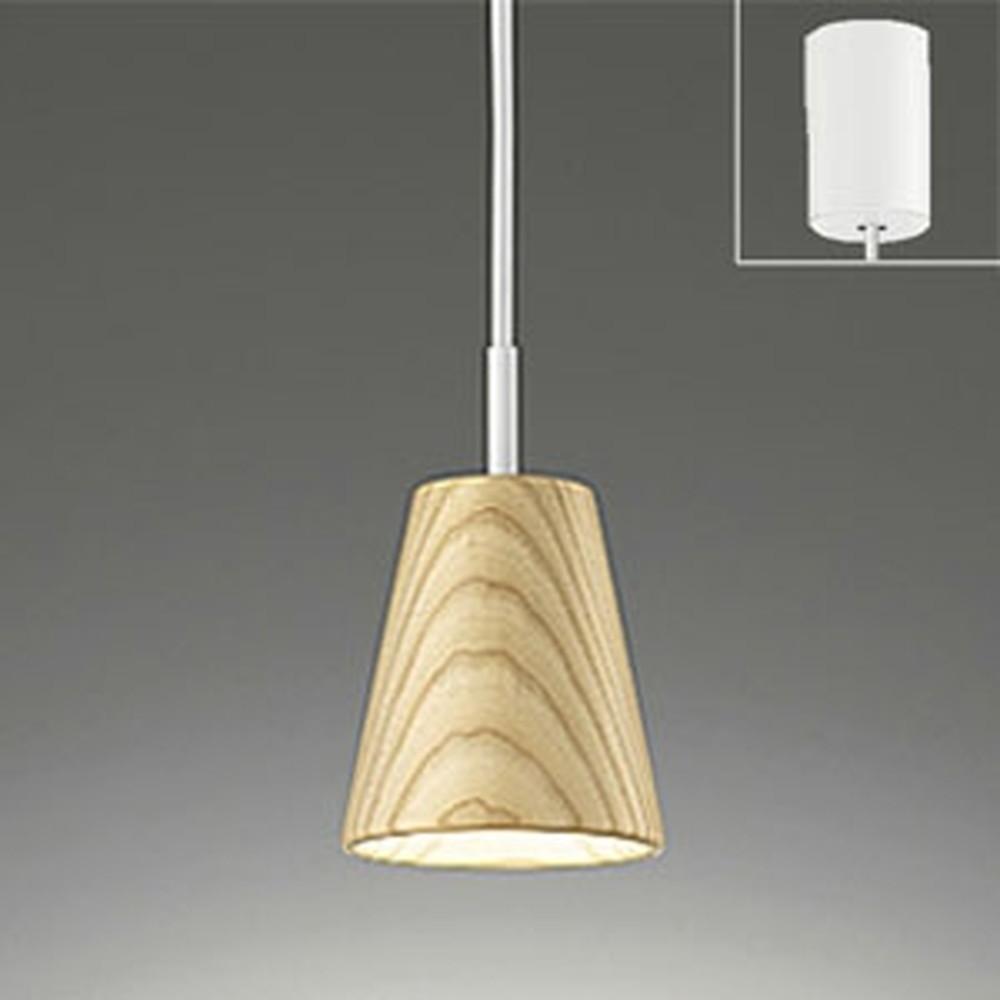 オーデリック LEDペンダントライト 《Natural Gear》 引掛シーリングタイプ 白熱灯60W相当 電球色 木材クリア仕上 OP252179LD