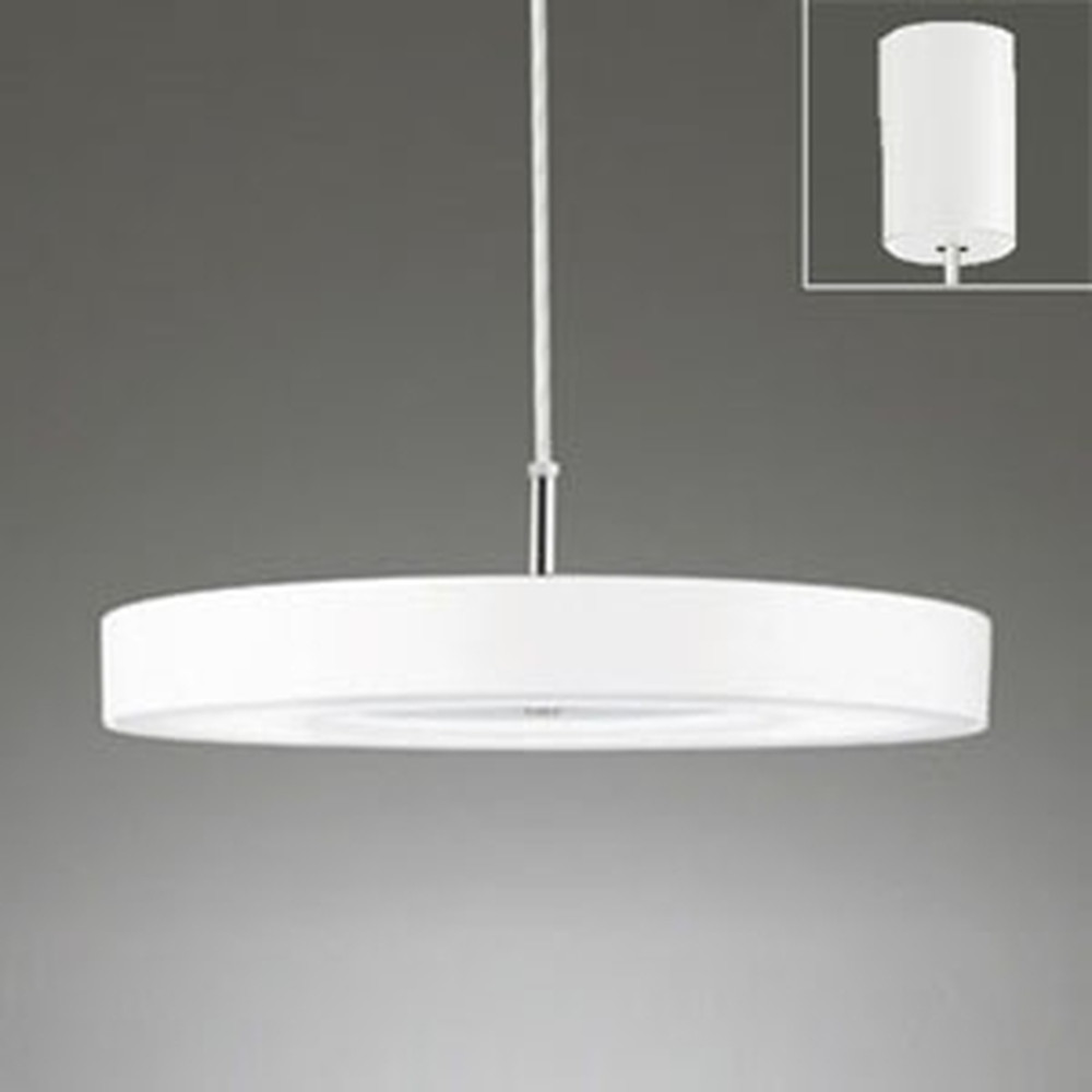 オーデリック LEDペンダントライト 白熱灯180W相当 点灯切替機能付 マットホワイト OP252038