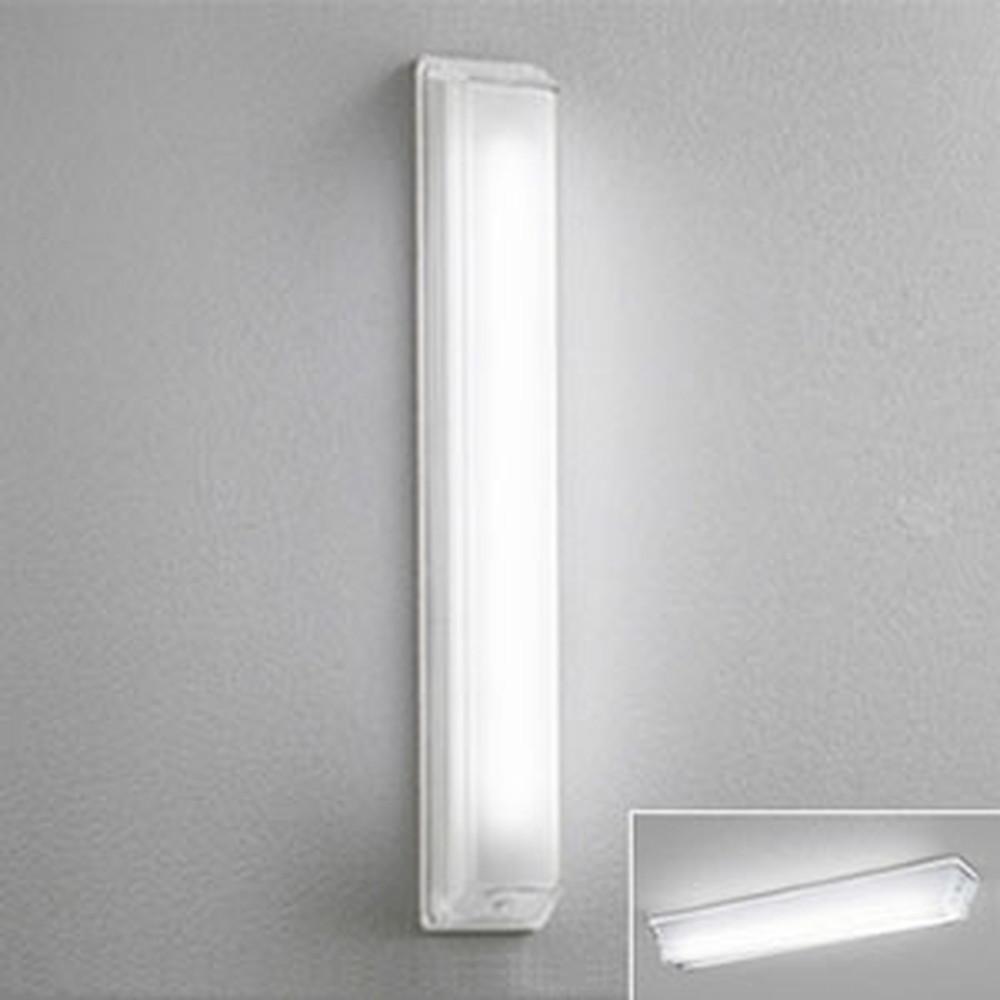 オーデリック LED一体型ポーチライト 防雨型 縦向き取付専用 壁面・天井面・傾斜面取付兼用 FL20W相当 昼白色 OG254099