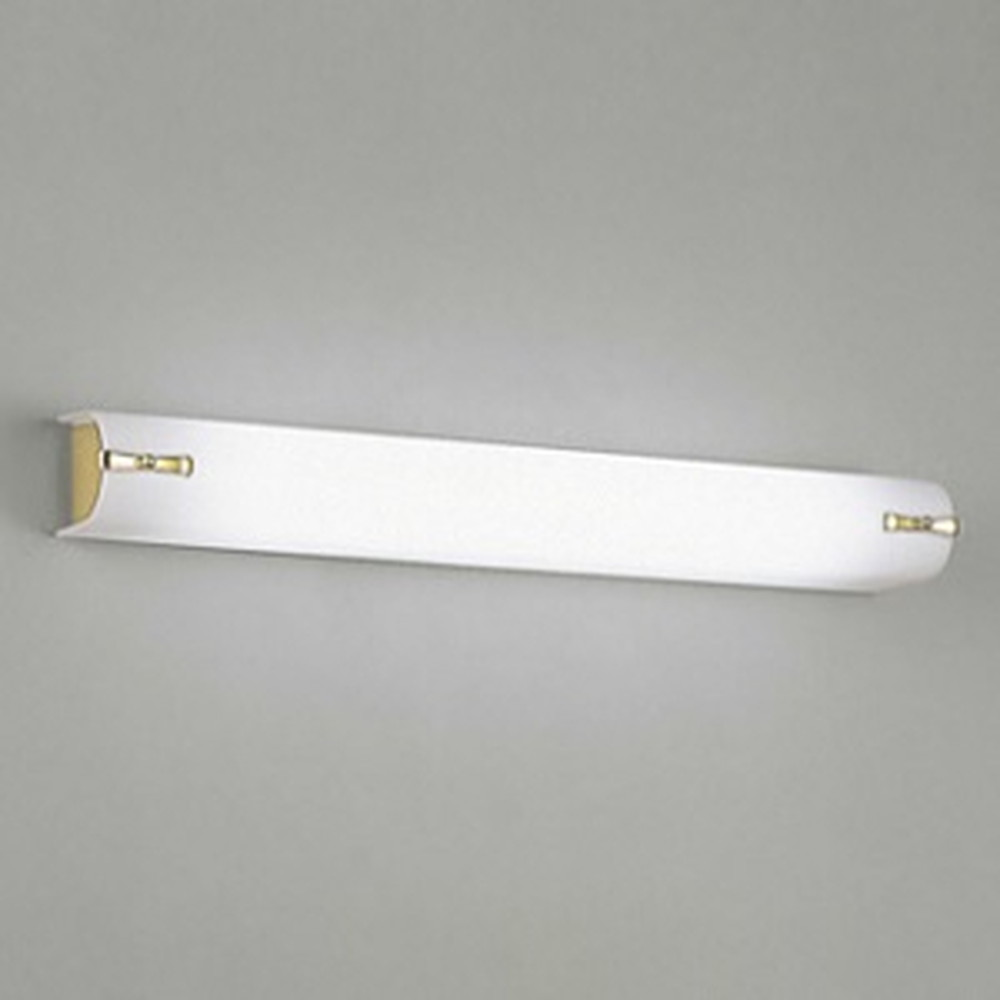 オーデリック LED一体型ブラケットライト 壁面・天井面取付兼用 FL20W相当 昼白色 金色 OB255099