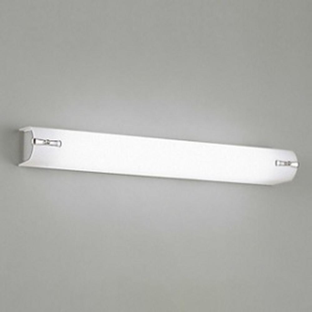 オーデリック LED一体型ブラケットライト 壁面・天井面取付兼用 FL20W相当 昼白色 マットシルバー OB255100