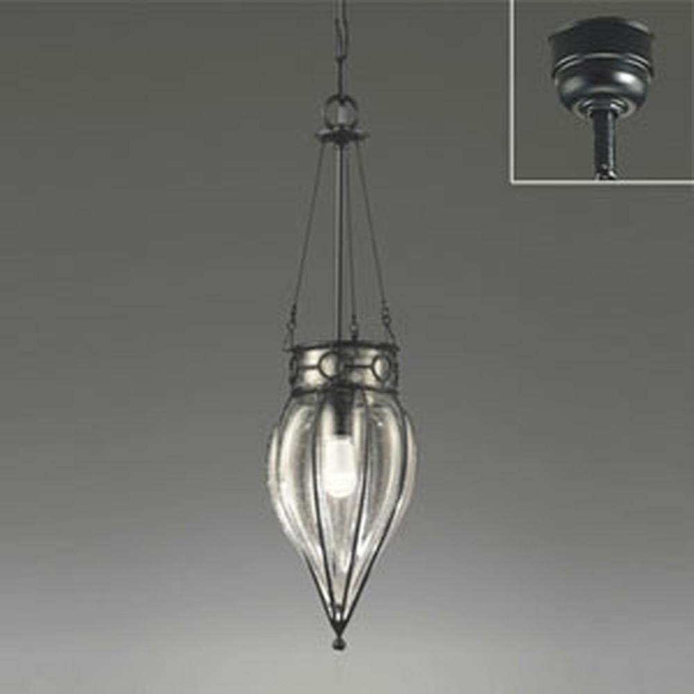 オーデリック LEDペンダントライト 白熱灯40W相当 電球色 透明 OP034259LD