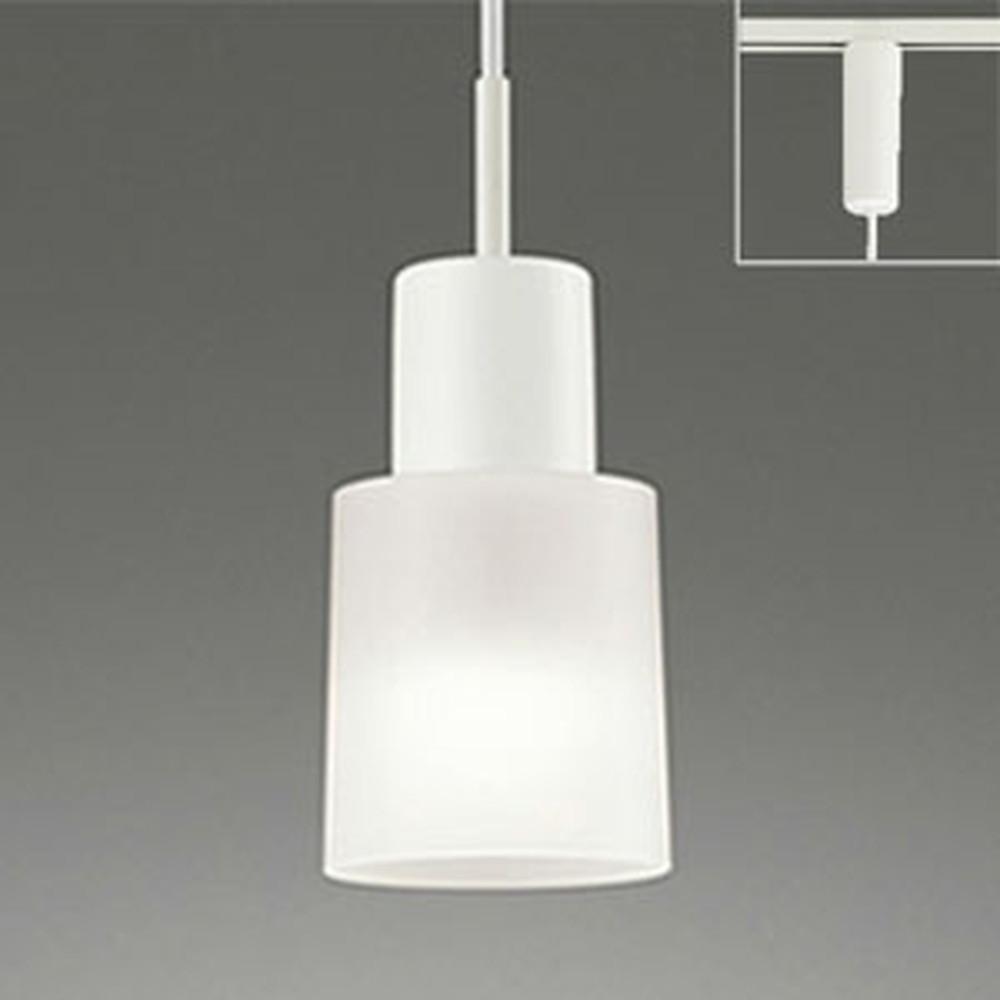 オーデリック LEDペンダントライト ライティングレール取付専用 白熱灯100W相当 電球色 光色切替調光タイプ OP034477PC